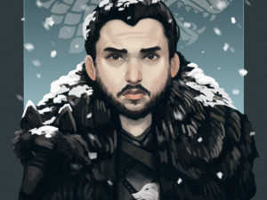 Game of Thrones – Character illustrations
