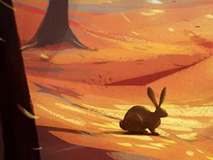 Illustration 'Autumn breeze'