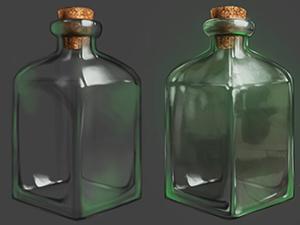 Texture & material studies | Glass