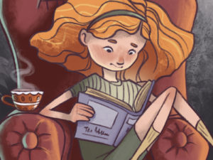 Story/book – Character design