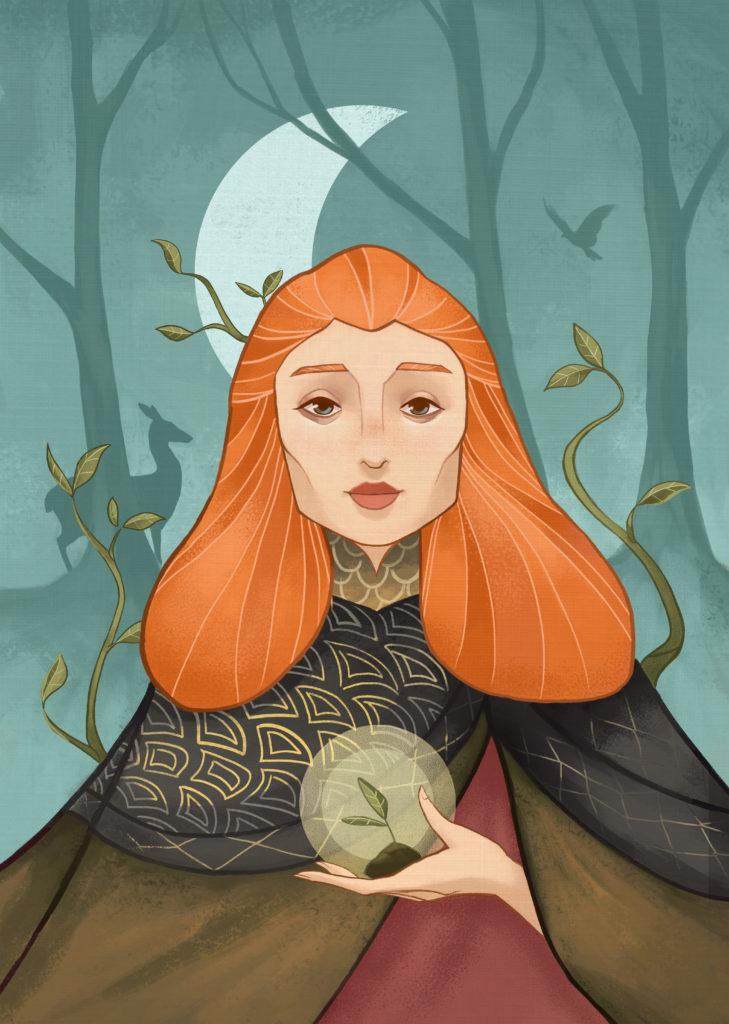 druid full illustration