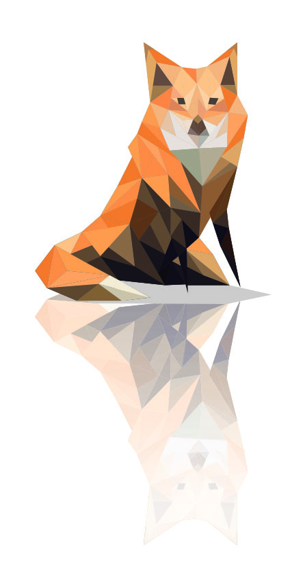 lowpoly_animals_fox